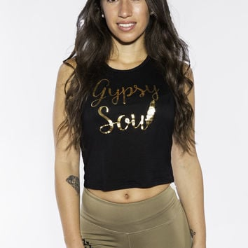 GYPSY SOUL TANK IN BLACK