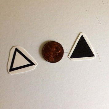 Temporary Tattoo Triangles by BlueHazelwood on Etsy