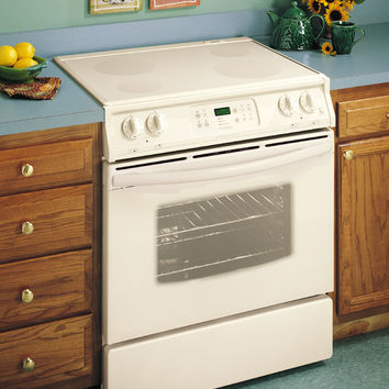 "Frigidaire FES367ASG 30"" Electric Slide-in Range, White - USED"