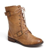 Sole Society 'Nessie' Lace-Up Bootie