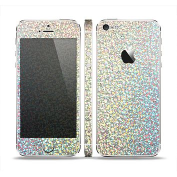 The Colorful Confetti Glitter copy Skin Set for the Apple iPhone 5