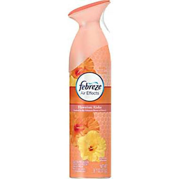 PGC19808 - Febreze Air Effects, 9.7 Oz Aerosol, Hawaiian Aloha Scent
