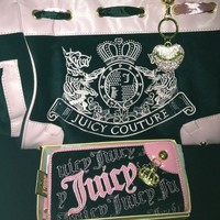 Juicy Couture Black Sequin Daydreamer Purse, Handbag, Bag