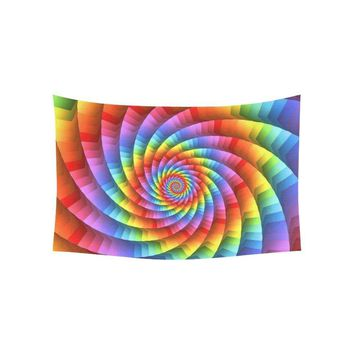 Tie Dye Spirals - Trippy Tapestries - Multiple Sizes Available