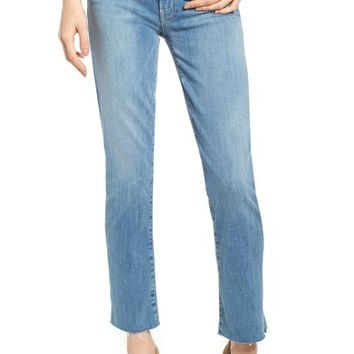 MOTHER The Rascal Ankle Snippet Straight Leg Jeans | Nordstrom