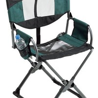 GCI Outdoor Xpress Lounger Director's Chair, Hunter