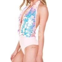 Party Monster Sequin Bodysuit