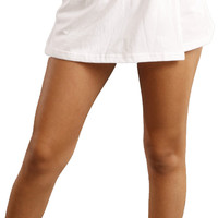 Soffe Cotton Skort in White