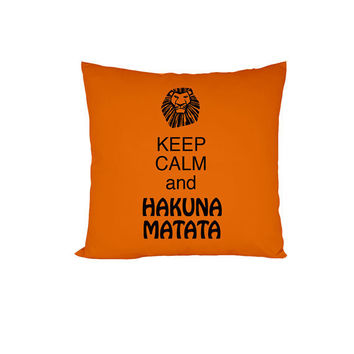 Pillow - Hakuna Matata - Orange