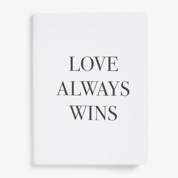 Statement journal - Love always wins - Home & gifts - Monki GB