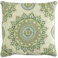 Margaritte Suzani Pillow - Blue