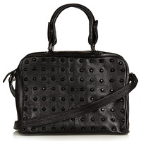 Studded Leather Holdall Bag - Bags & Wallets - Bags & Accessories - Topshop USA