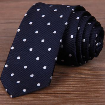 Men's Patterned Slim Tie