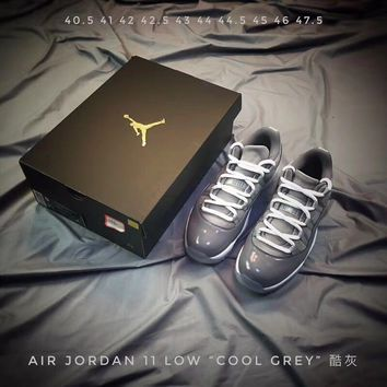 Air Jordan 11 Low Cool Grey 40.5-47.5 | Best Online Sale