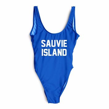 SAUVIE ISLAND One Piece Swimsuit