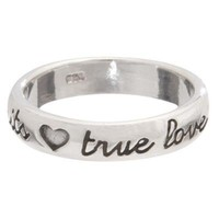 True Love Waits and Hearts Purity Ring - Purity Rings - Rings  | Cornerstone Jewelry