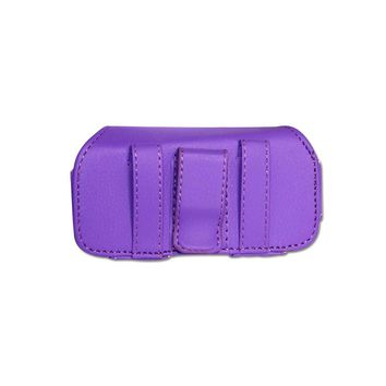 HORIZONTAL POUCH HP11A L SIZE PURPLE 4.6X1.9X0.8 INCHES: Case Of 120