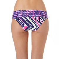 Roxy - Graffiti Beach Foldover Brief Bikini Bottoms