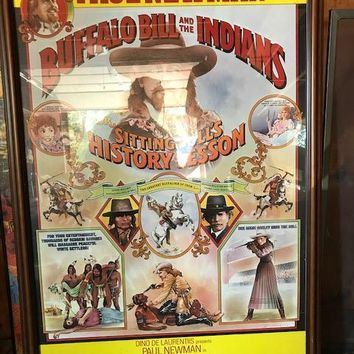 Buffalo Bill And The Indians Poster