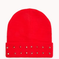 High-Voltage Spiked Beanie
