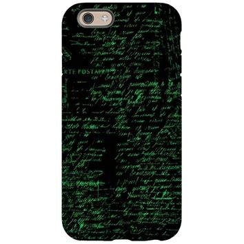 VINTAGE HANDWRITING IPHONE 6/6S TOUGH CASE