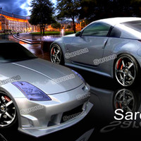Sarona Body Kit - Full Kit for 03-08 Nissan 350z at Andy's Auto Sport