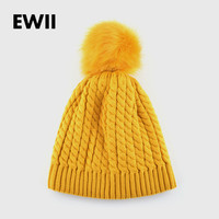 female winter knitted interwoven pattern women warm bonnet Nagymaros ballbone