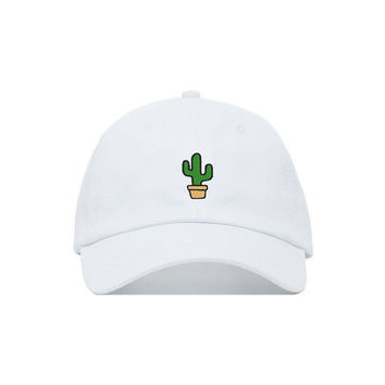 Cactus Embroidered Baseball Cap
