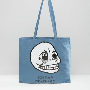 Cheap Monday Corpse Tote Bag at asos.com