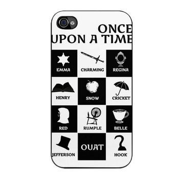 ouat once upon a time iPhone 4 4s 5 5s 5c 6 6s plus cases