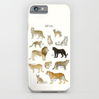 Wild Cats iPhone & iPod Case by Amy Hamilton