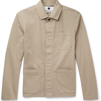 NN.07 - Oscar Slim-Fit Cotton-Blend Canvas Field Jacket