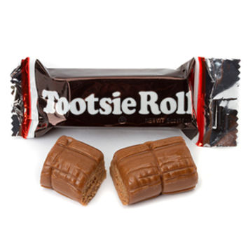 Tootsie Roll Snack Size Candy Bars: 25-Piece Bag