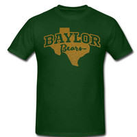 Baylor Bears Gameday shirt - Green with Gold