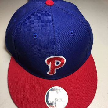 AMERICAN NEEDLE COOPERSTOWN COLLECTION PHILADELPHIA PHILLIES FITTED HAT