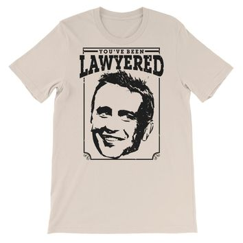 Lawyered (Black) | Unisex Funny HIMYM Marshall Shirt