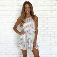 Catch Of The Day Print Romper