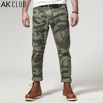AK CLUB Brand Casual Pants The Expendables 3 Camouflage Pants 100% Cotton Army Military Style Combat Pants Men Pants 1412029