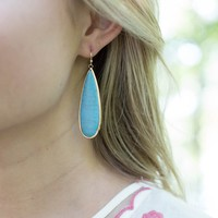 Gabby Drop Earring, Turquoise