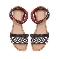 ETHNIC SANDAL - Shoes - TRF - ZARA United States