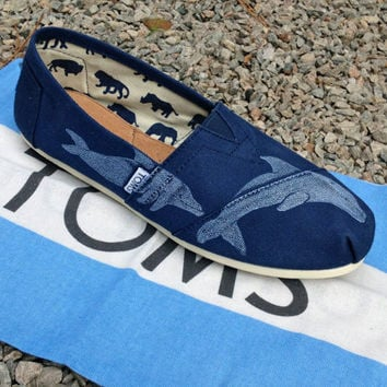 Dolphin TOMS Shoes by themattbutler on Etsy