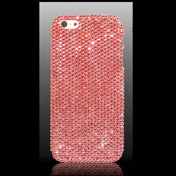 iPhone 5s and iPhone 5 Swarovski Elements Crystal Case in Pink - Christmas/Holiday 2013