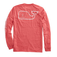 Shop Long-Sleeve Vintage Whale Graphic Performance T-Shirt at vineyard vines