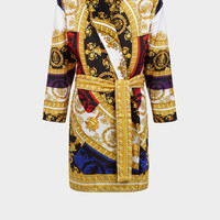 Versace Silk I ♡ Baroque Bathrobe for Women | US Online Store