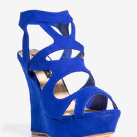 Casandra-4 Night Cap Caged Wedge