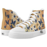 Iron Butterfly by rokinronda Printed Shoes