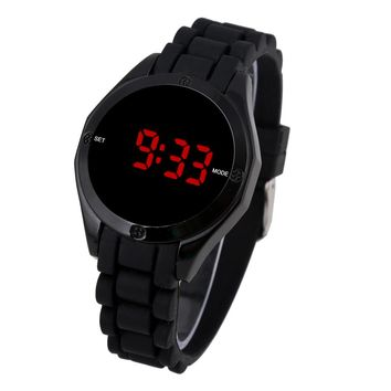 2016 New Red LED Watch Sports Watches Military Watches Digital LCD Watch Relogio Masculino Men Wristwatches
