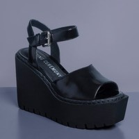 Opening Ceremony Grunge Wedge Sandals - WOMEN - Opening Ceremony - OPENING CEREMONY