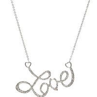 rue21 :   LARGE LOVE NECK