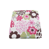 CoCaLo Baby Taffy Baby Girl Crib Fitted Sheet